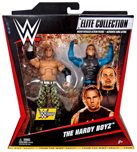 THE HARDY BOYZ 2- PACK WWE SHOP EXCLUSIVE ELITE