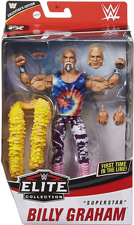 SUPERSTAR BILLY GRAHAM COLLECTORS EDITION EXCLUSIVE *BOX DAMAGE*