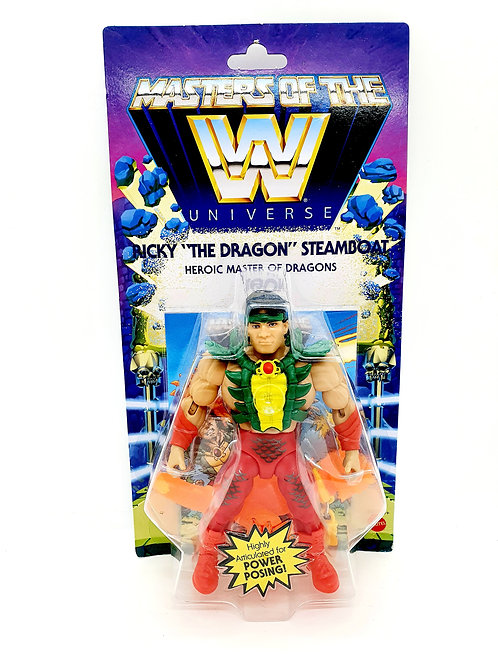 RICKY 'THE DRAGON' STEAMBOAT- WWE Masters of the WWE Universe Action Figure