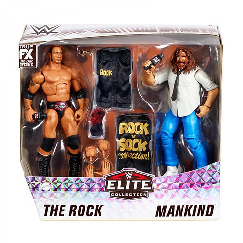 ROCK 'N' SOCK CONNECTION - THE ROCK AND MANKIND