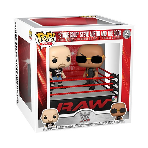 WWE POP Moment!The Rock vs Stone Cold