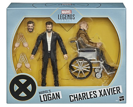 Marvel Legends- Logan & Charles Xavier 2 pack