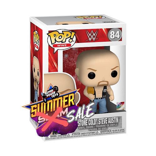 Stone Cold Steve Austin w/Belt - WWE POP! Vinyl Figure
