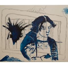 Goethe in Prussian Blue