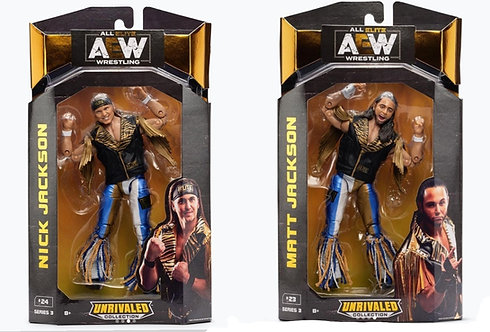 THE YOUNG BUCKS - AEW UNRIVALED SERIES 3