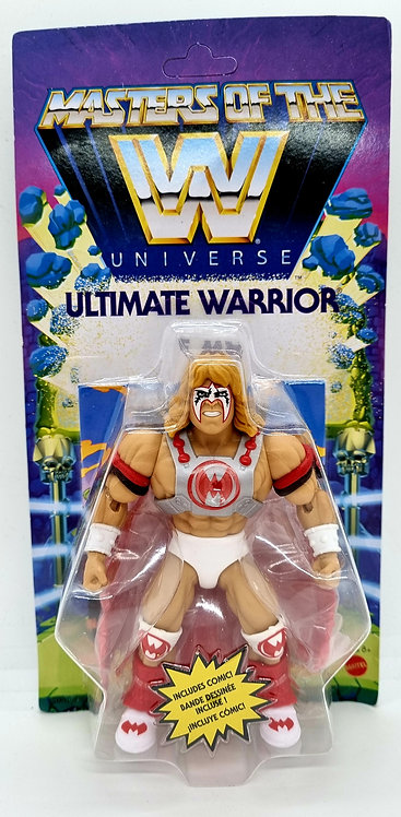 ULTIMATE WARRIOR - WWE Masters of the WWE Universe Action Fig