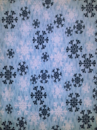 Winter Blue Snowflakes2
