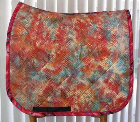 Dressage Saddle Pad - Desert Sunrise