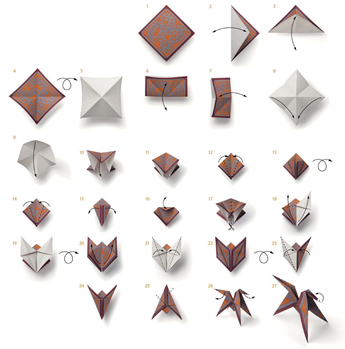 LET'S ORIGAMI WITH HERMES - photo#22
