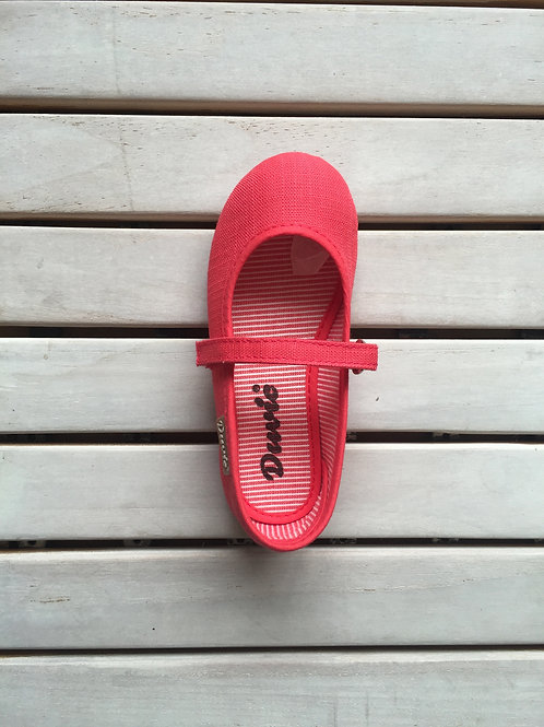 MARY JANES VELCRO CORAL