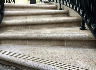 Bullet-proof granite shines centre stage under the international spotlight