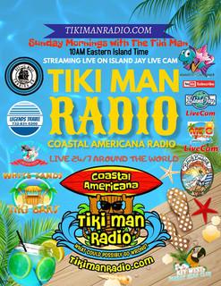 Sunday Mornings with The Tiki Man Sunday's 10AM