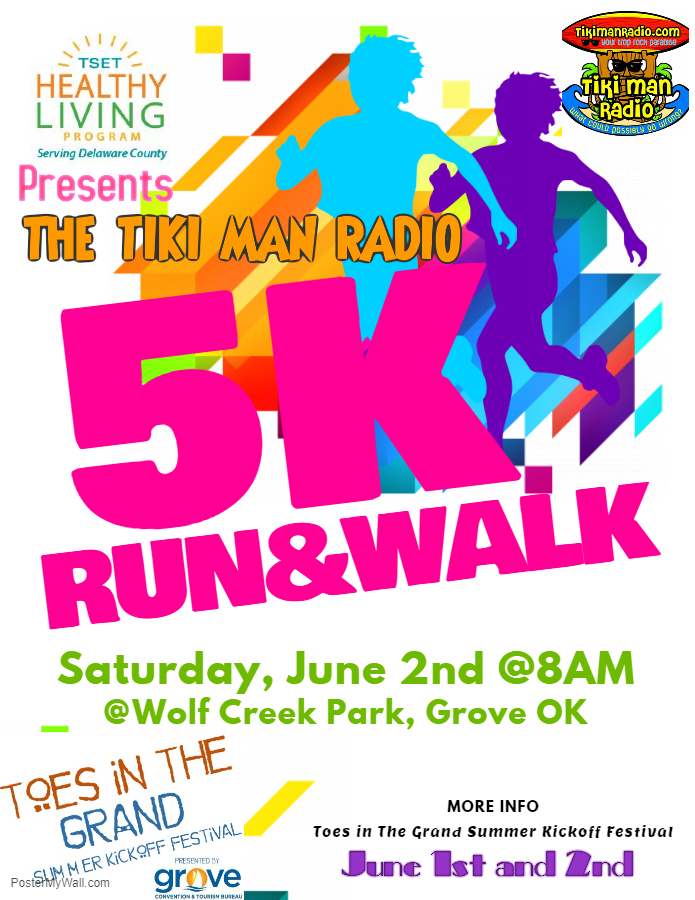Copy of 5K Run  Walk Flyer