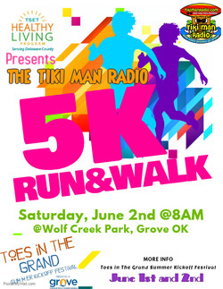 Copy of 5K Run  Walk Flyer