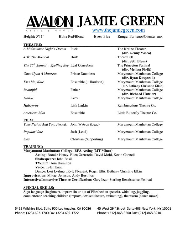 Jamie Green- Actor Resume AVALON-1.jpg