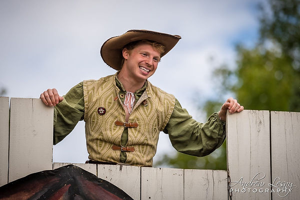 Jamie Green as the Lord Mayor's Son- Sterling Renaissance Festival 2018