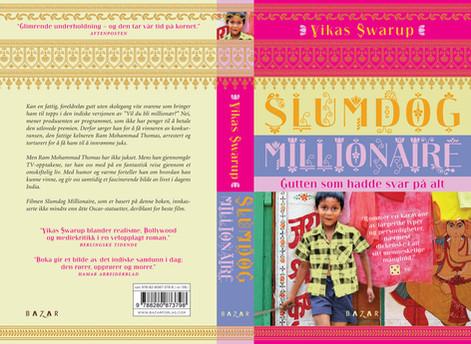 :::  Vikas Swarup Slumdog Millionaire  Bazar Forlag