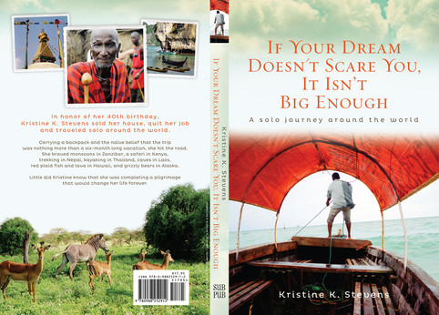 :::  Kristine Stevens If your Dream doesn't scare you it isn't big enough  SubPub