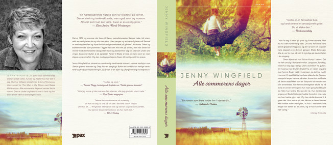 :::  Jenny Wingfield Alle sommerens dager  Pax Forlag