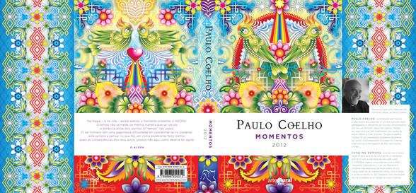 :::  Paulo Coelho Agenda 2012 Momentos  Illustrasjoner: Catalina Estrada  Bazar Forlag