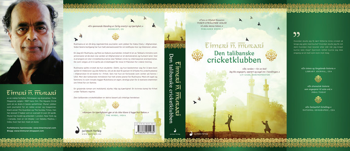 :::  Timeri N. Murari Den talibanske cricketklubben  Juritzen Forlag