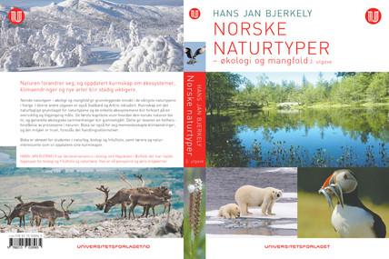 :::  Hans Jan Bjerkely Norske naturtyper  Universitetsforlaget