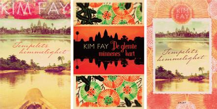 :::  Kim Fay Tempelets hemmelighet  Bazar Forlag (skisseforslag)