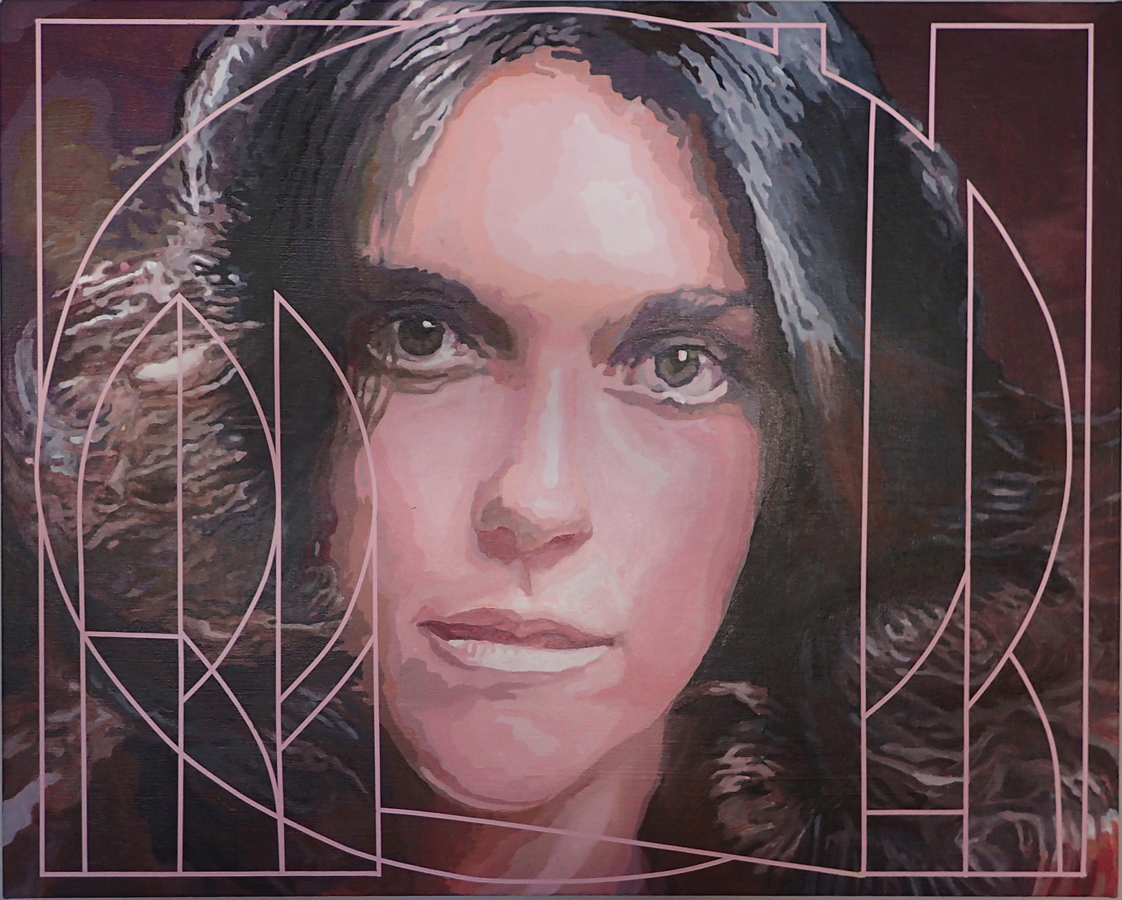 Tony Abboreno_Karen Carpenter_30x24in_acrylic on canvas_$1600  copy