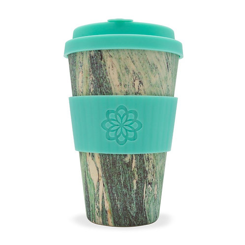 Blue Marble Bamboo Travel Cup 14oz