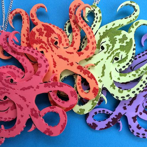 Octopus Garden Necklace