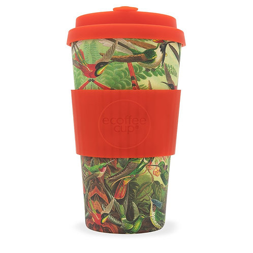 Birds of Paradise Bamboo Travel Cup 16oz