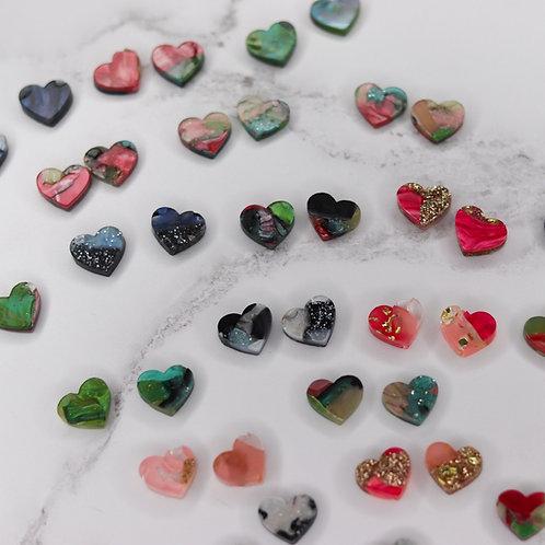Heart studs - Lucky Dip