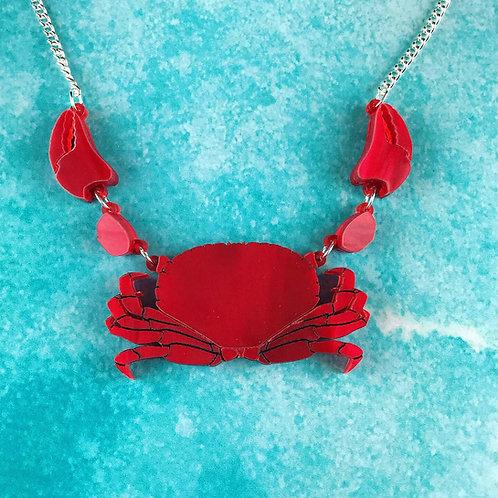 Mini Crabby Necklace