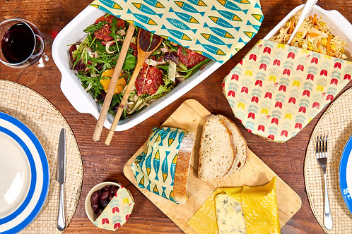 Beeswax Wrap Family Pack