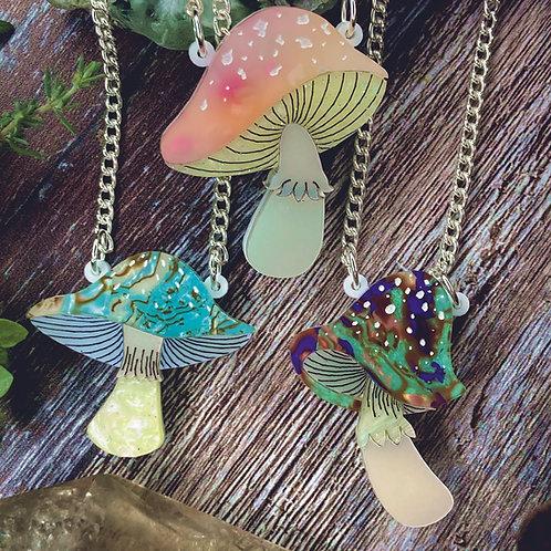 Magic Mushroom Mini Necklace *limited*