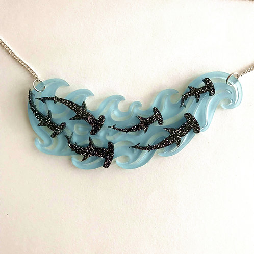 Hammer Head Shark Necklace