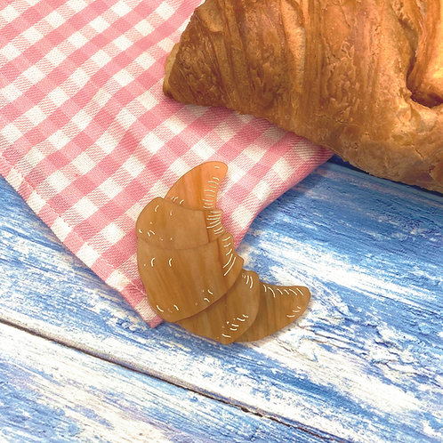 Croissant Brooch