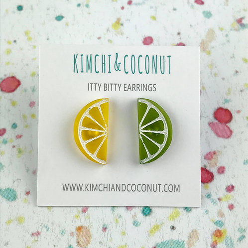Lemon & Lime Earrings