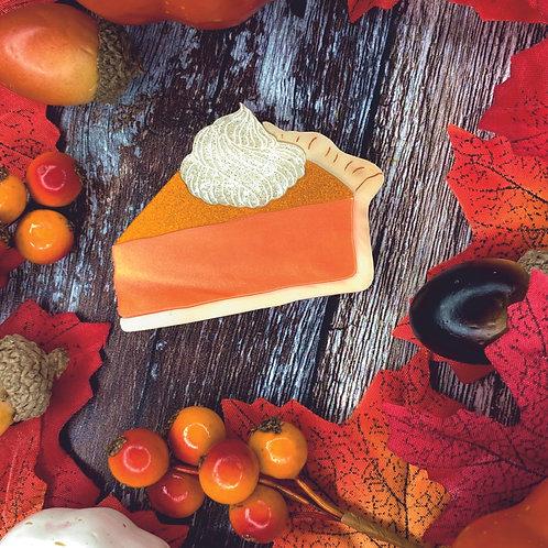 Pumpkin Pie Brooch