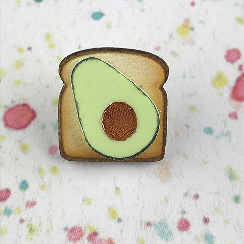 Avocado Toast Pin