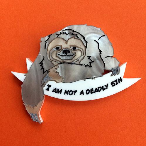 Sloth Brooch