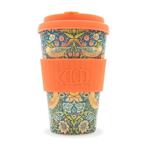 Strawberry Thief Bamboo Travel Cup 14oz