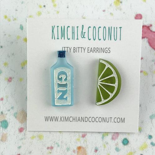 Gin & Tonic Earrings