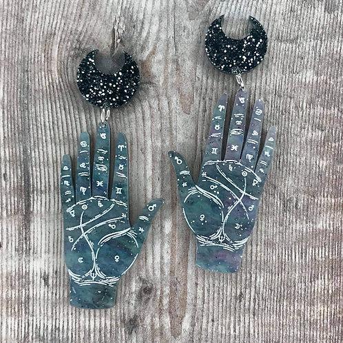 Palmistry Earrings