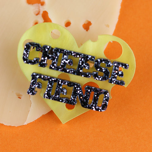 Cheesy Lover Brooch