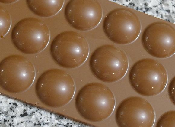 Tablette caramel semi-liquide