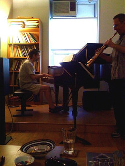 Fred and Jim Rehearsing