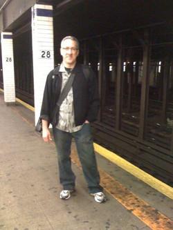 Jim @ 29th Street stop