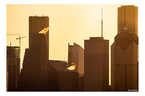 """Downtown sunrise"""