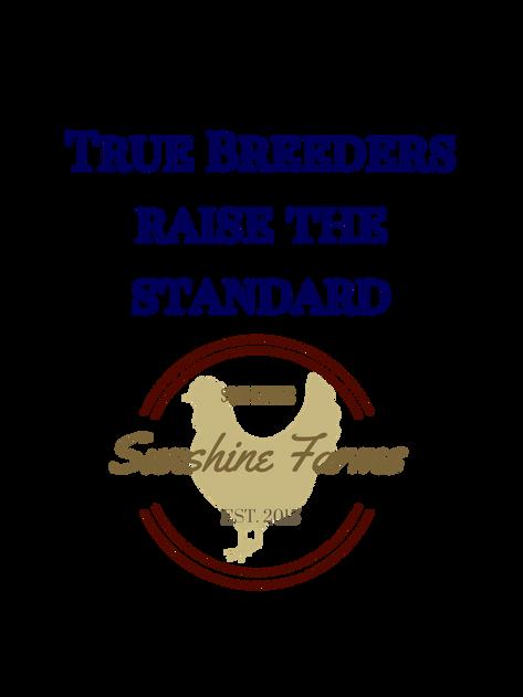Take a FancySpeak Design and add your own personalized Club or Farm Logo